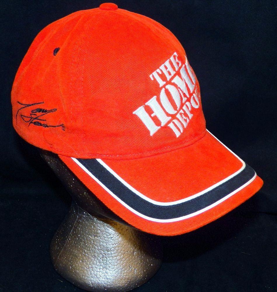 Vintage 1999 Tony Stewart 20 NASCAR Home Depot Joe Gibbs Racing Baseball  Cap Hat  ChaseAuthentics  JoeGibbsRacing 188a65fb20e2