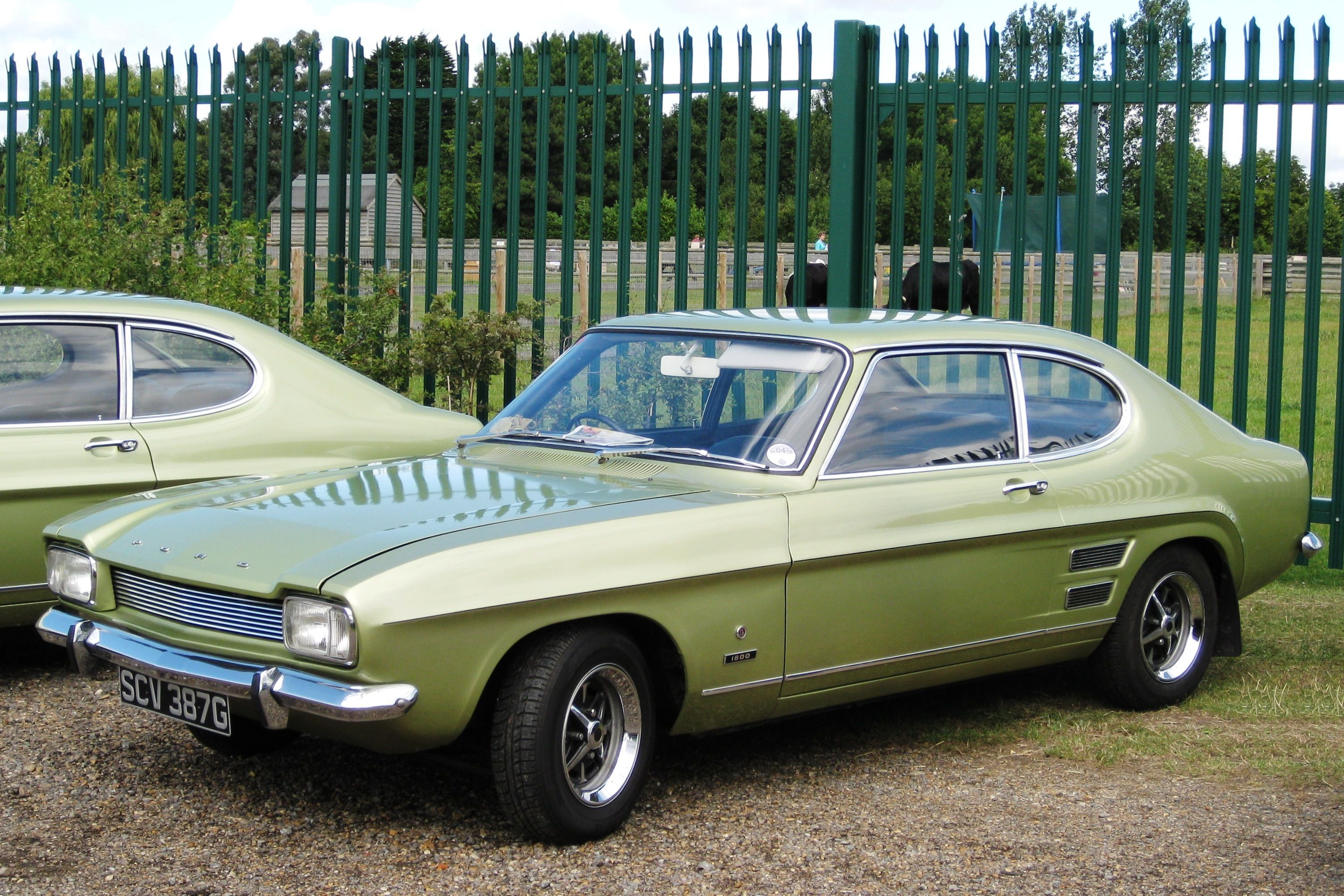 Detail Cars 1969 Ford Capri 3000 GT Red Diecast 1/43 Very Rare ...