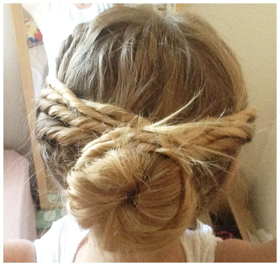 Todayus hair simple easy updo hair pinterest easy updo updo