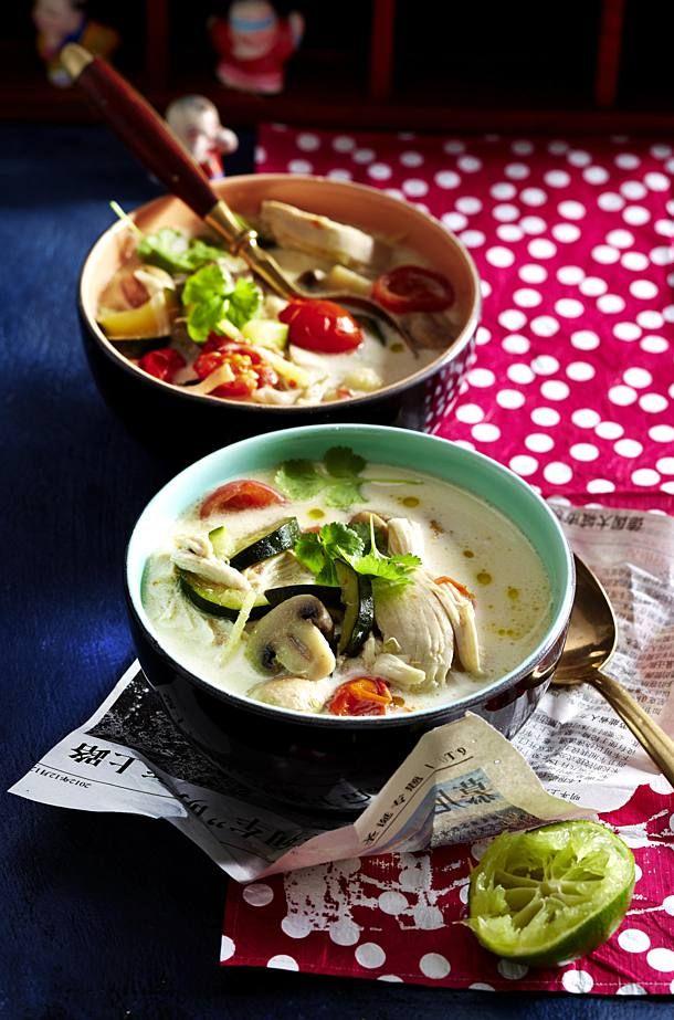 Photo of Tom Kha Gai – Thailändische Kokos-Hähnchen-Suppe Rezept | LECKER