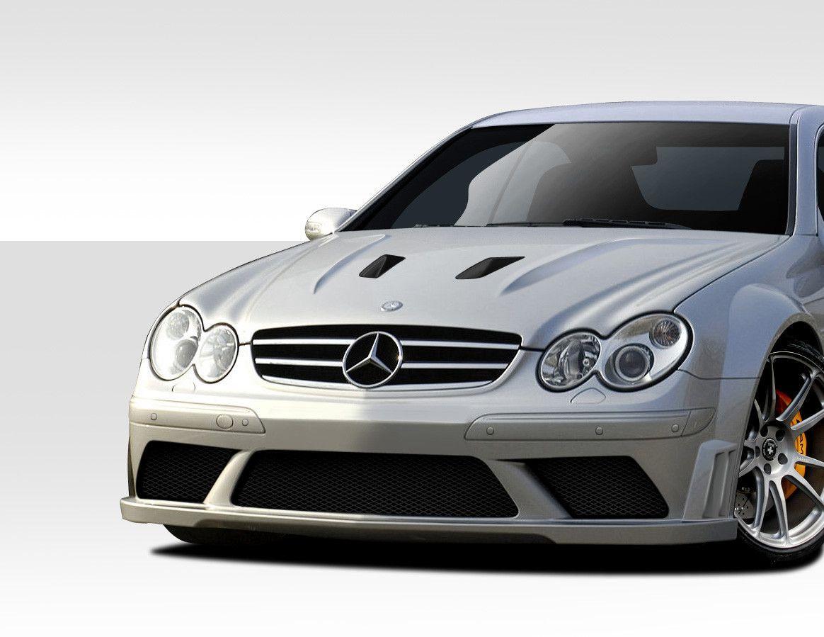 2003-2009 Mercedes CLK W209 Duraflex Black Series Look Hood - 1 Piece