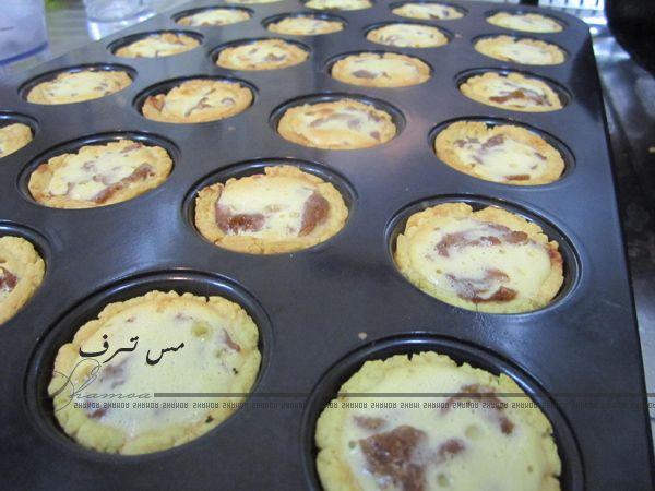 ميني فطيرة تفاح Apple Desserts Sweet Food