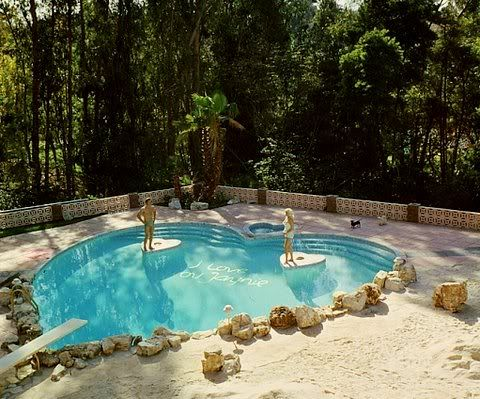 Private Places Beautiful Pools Hollywood Homes Celebrity Houses