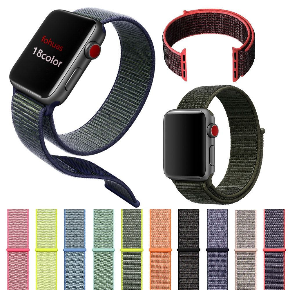 Sports Band for Apple Watch with Velcro Clasp Price 9.95