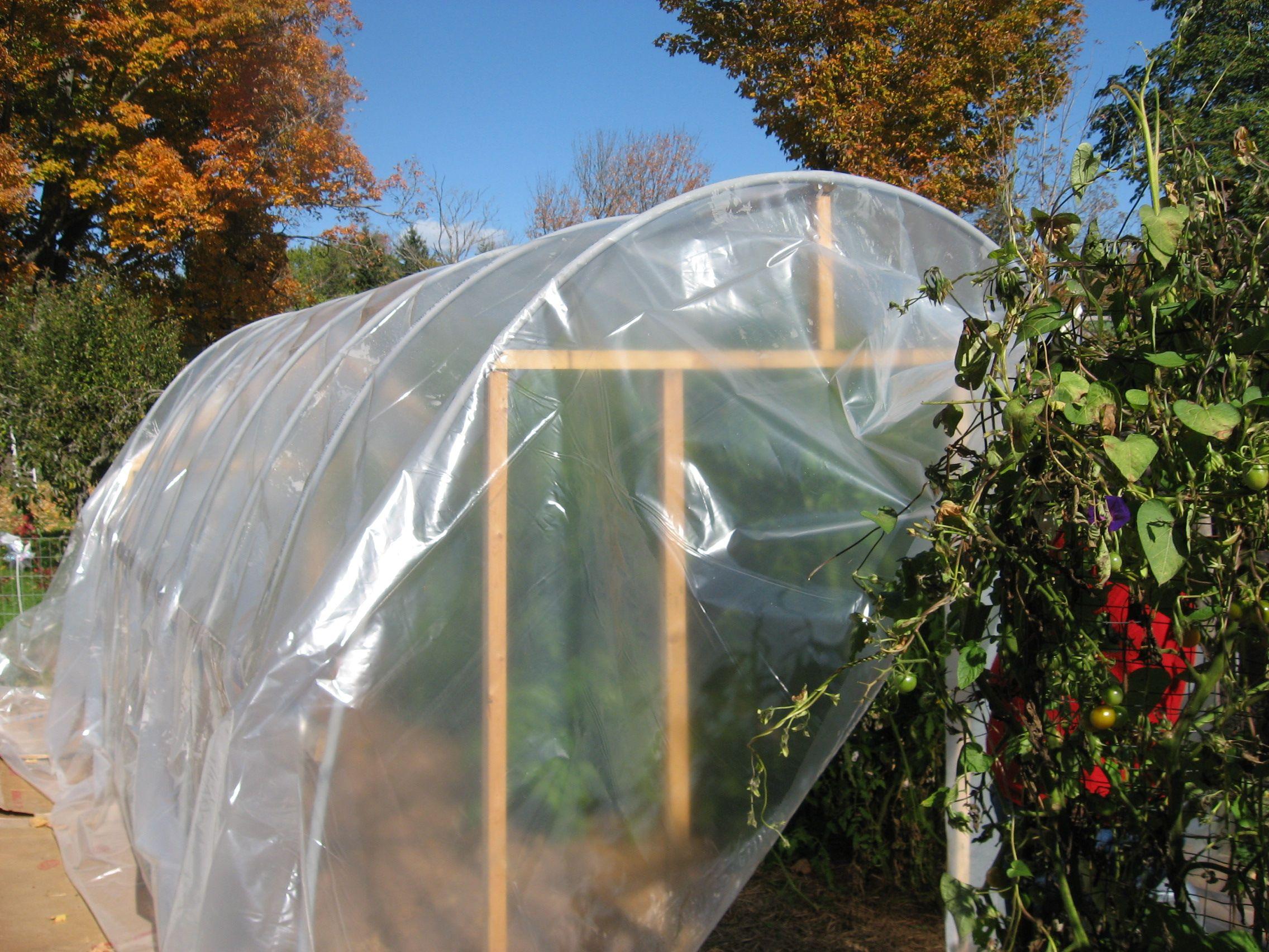 Plastic Bottle Greenhouse Plans | PVC Hoophouse Construction ...