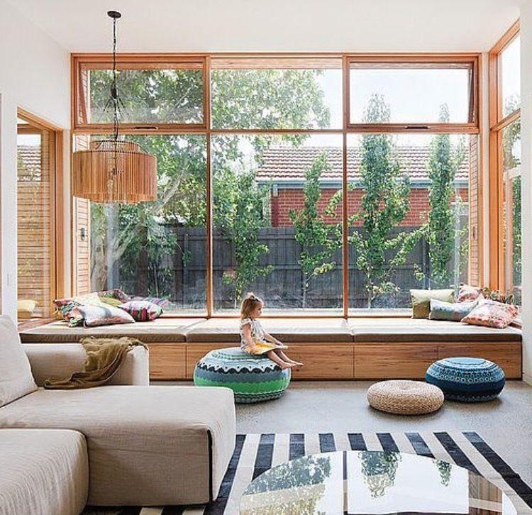 Pin By Neila Hutt On Dream House Modern Window Seat House Design House Design Photos