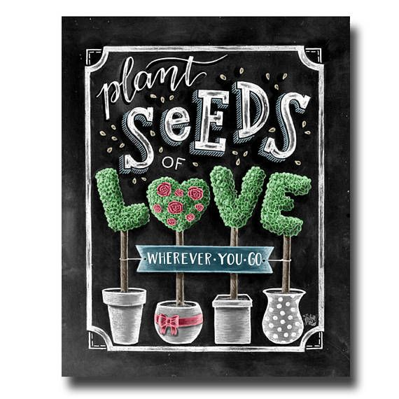 Plant Seeds Of Love Wedding Seed Favors Let Love Grow