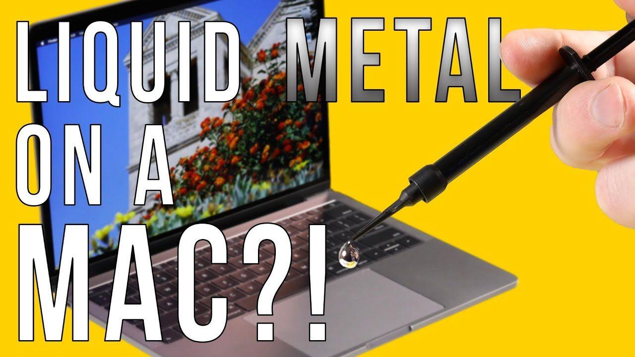 Liquid Metal in a MacBook Pro: No More Throttling! | Delid