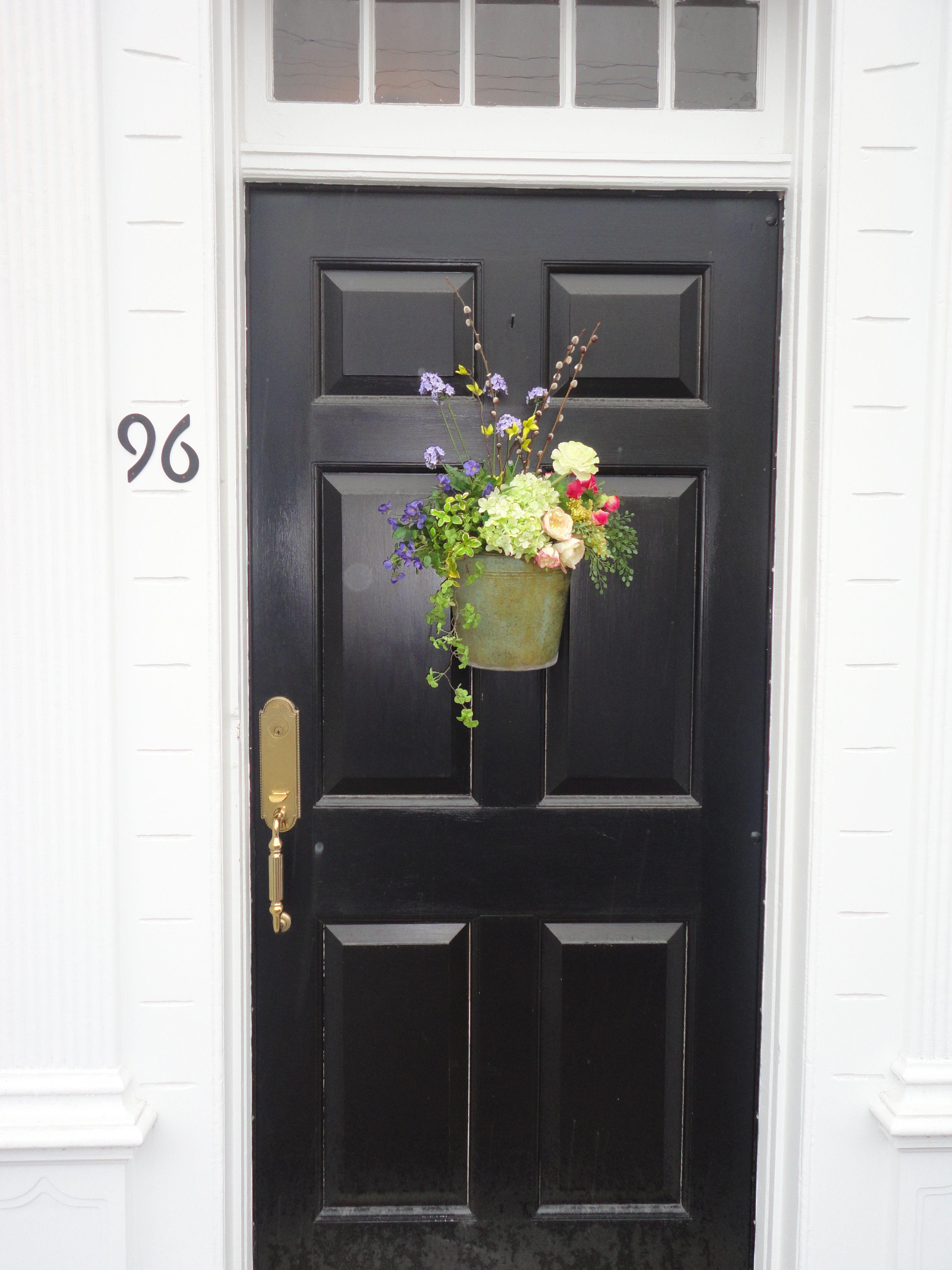 Raynard \u0026 Peirce Real Estate Company front door floral arrangement. Come visit us. 96 & Raynard \u0026 Peirce Real Estate Company front door floral arrangement ...
