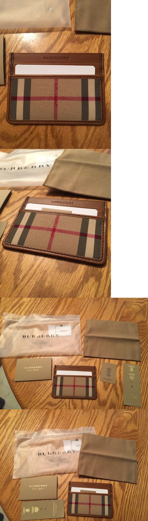 Business And Credit Card Cases 105860 New Burberry Horseferry Check