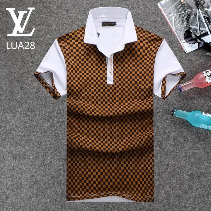 90182f795 Louis Vuitton POLO shirts men-LV61821A