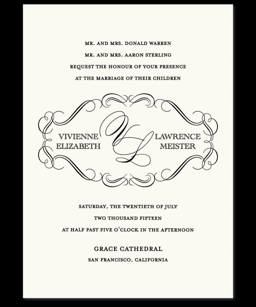 wedding invitation verbiage | Wedding | Pinterest | Wedding and Weddings