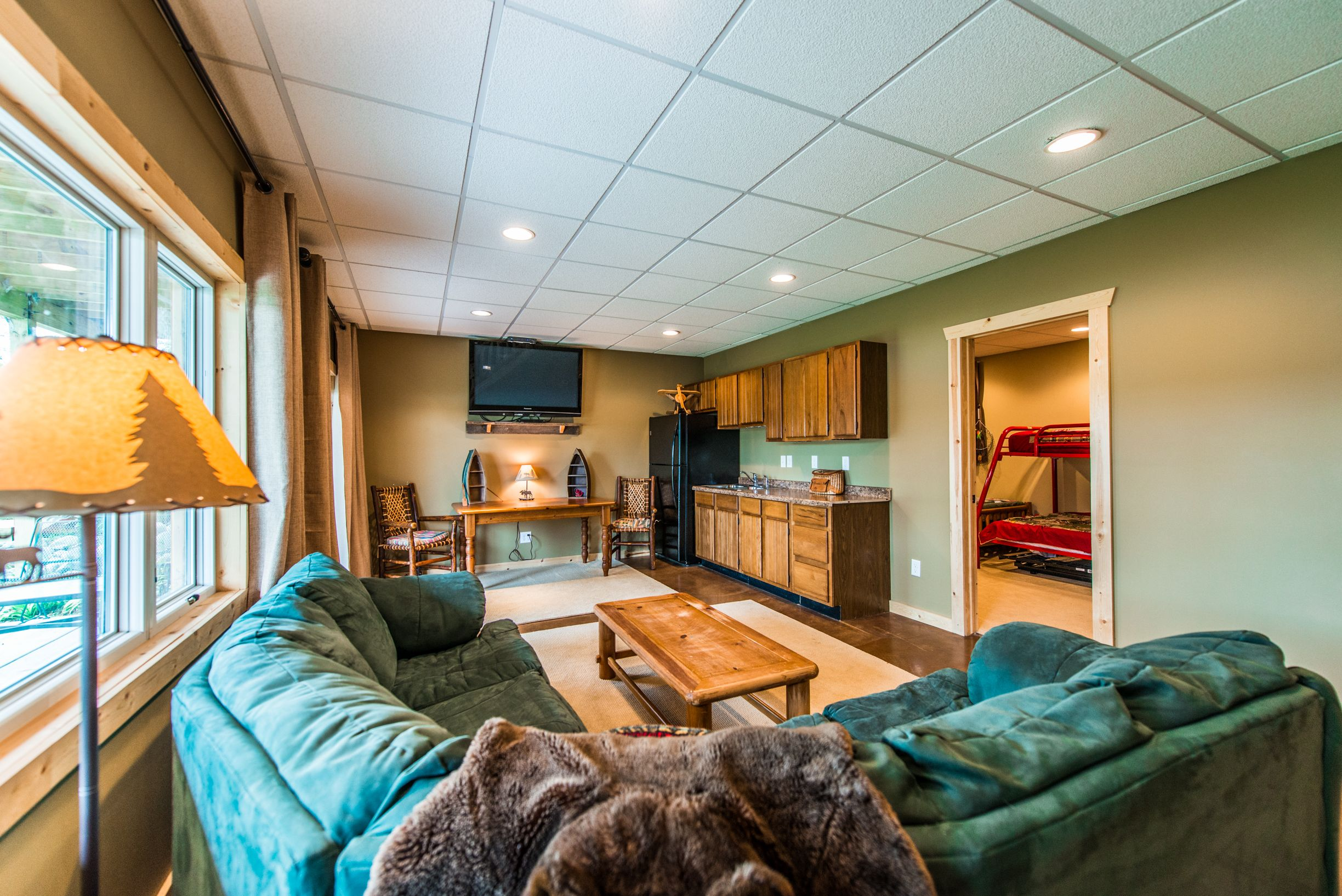 cabin best fresh rentals green vygogo wisconsin dells lake winter vacation of cabins