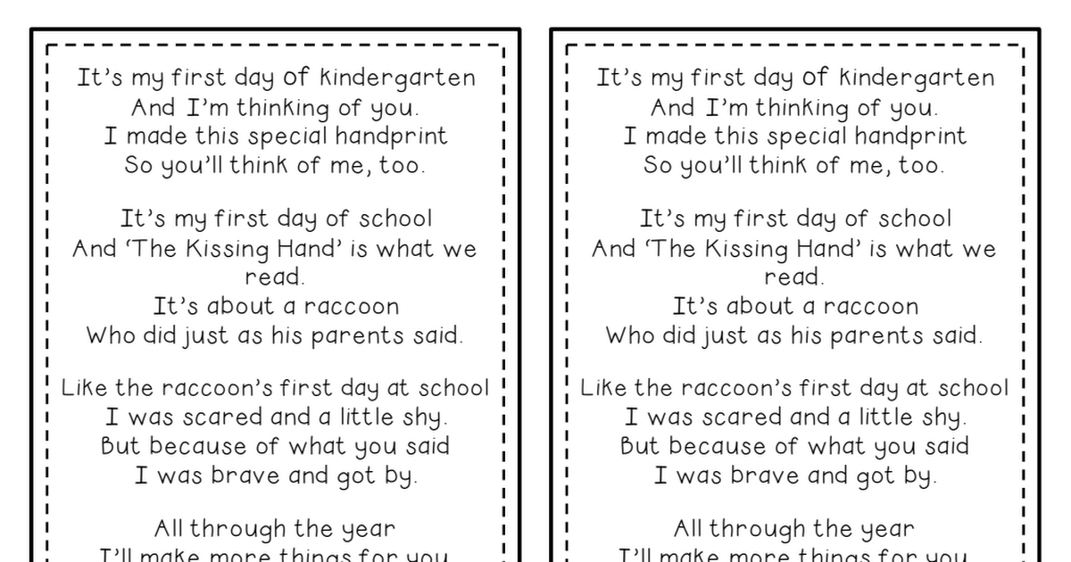 to this day poem pdf