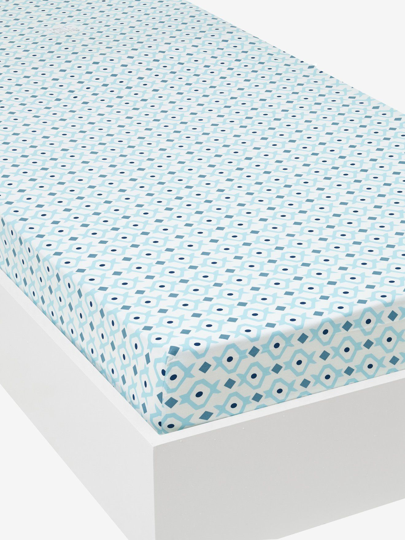 Spannbettlaken Skater Von Vertbaudet In Weiss Blau Nur 2 95 Versand Kinderzimmer Jetzt Bei Vertbaudet Bestellen Spannbettlaken Bettlaken Kinderbettwasche