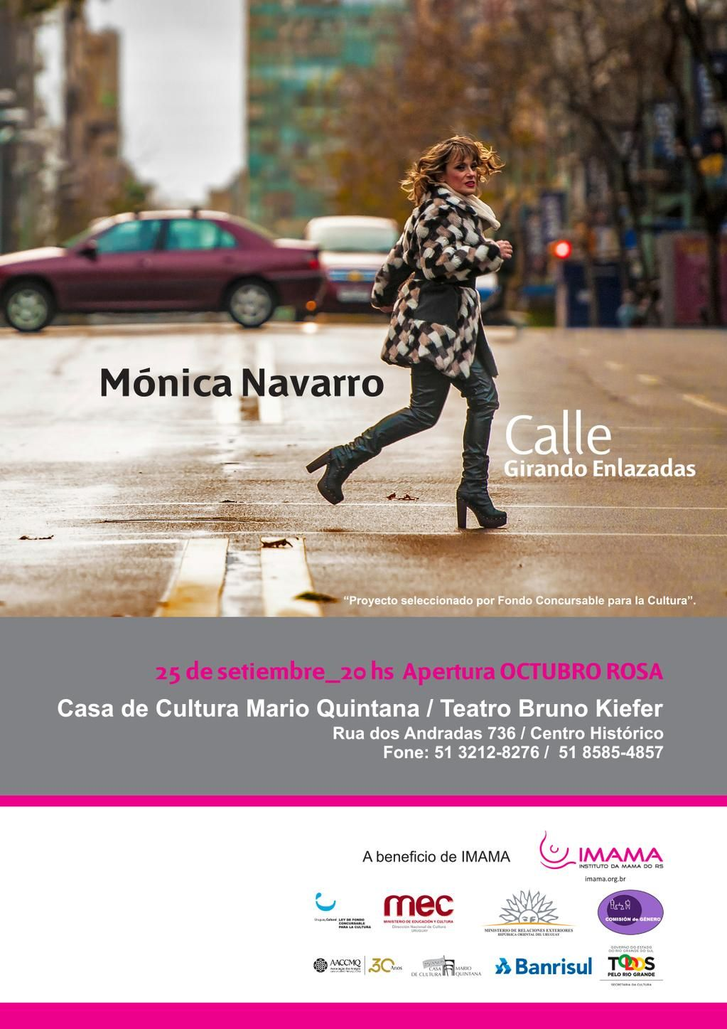 el 25 en Porto Alegre. Música y solidaridad de la mano