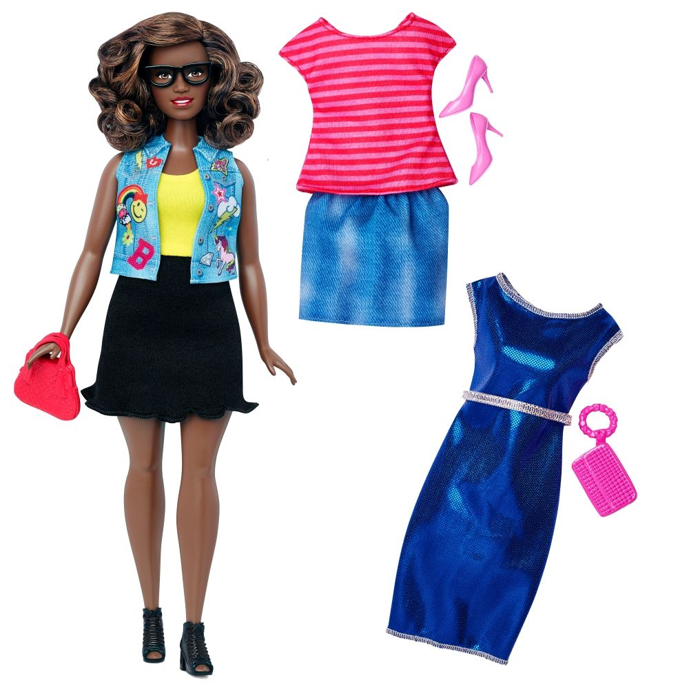 Barbie® Fashionistas™ 39 Emoji Fun Doll & Fashions - Curvy - Shop.Mattel