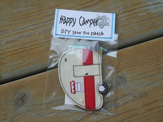 Happy Camper sew on Camper patch DIY by BSoriginals on Etsy, $10.00