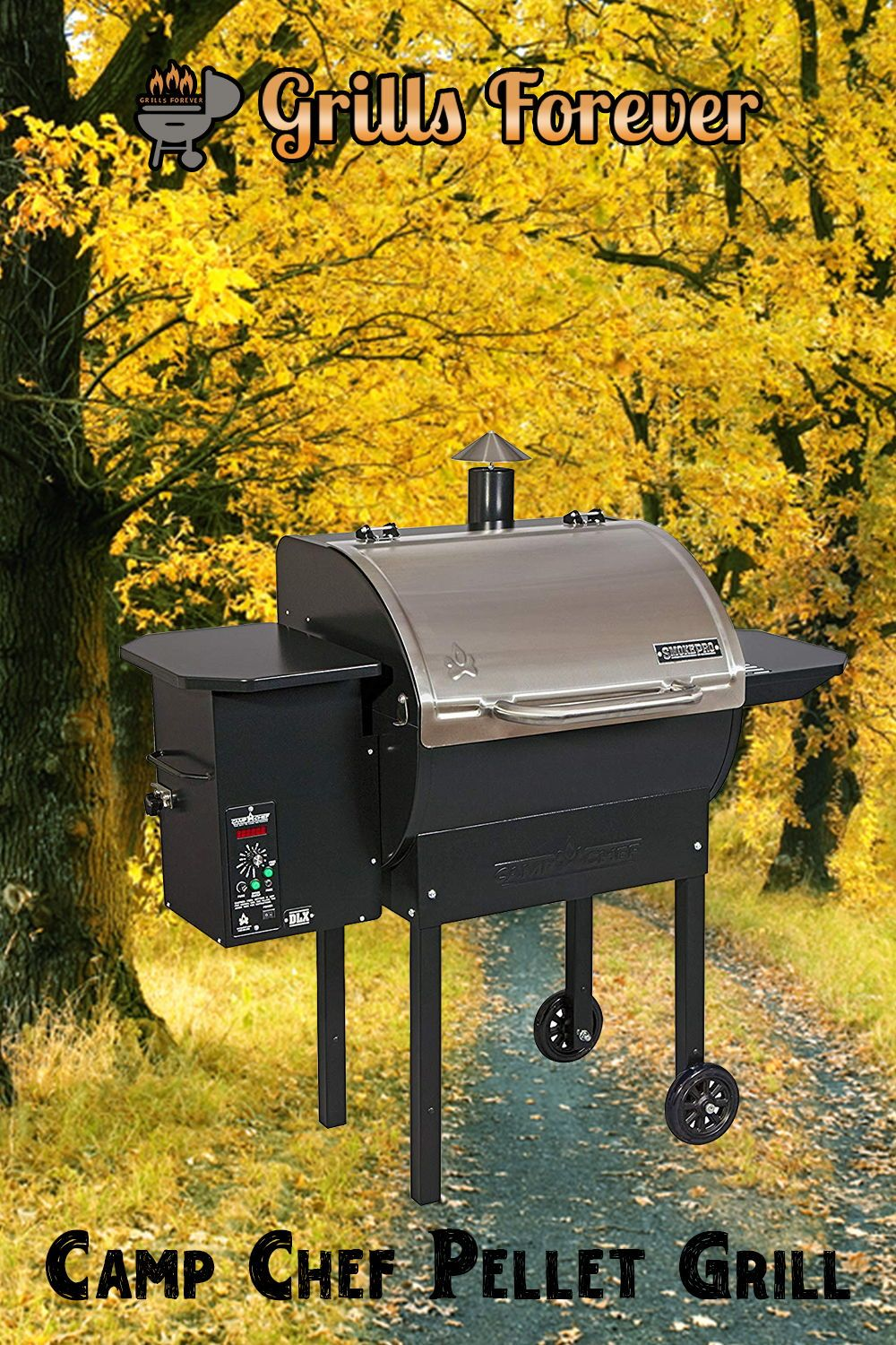 Camp Chef Pellet Grill Smoker Deluxe Review Grills Forever Pellet Grill Pellet Grills Smokers Camp Chef