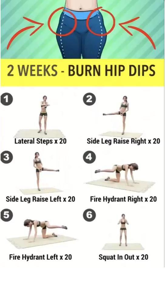 2 Weeks - Burn Hip Dips!