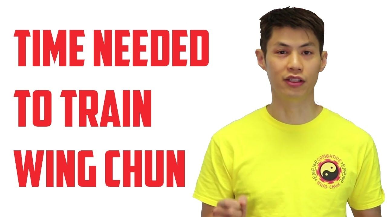 How long should i train before i can do wing chun wing