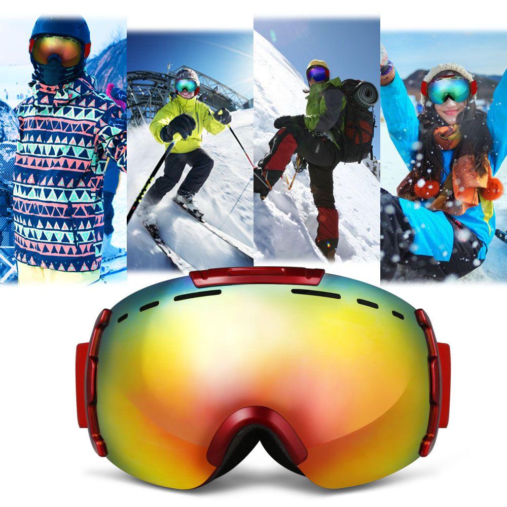 LY - 46 Ski Glasses Snowboard Goggles Anti-fog UV Protection Eyewear
