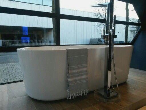 Mooie vormgeving badkuip.
