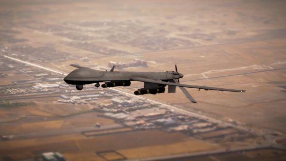 Military Drone UAV
