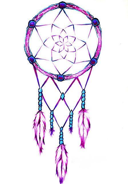 Pretty And Simple Drawn Dreamcatcher Dream Catcher Tattoo Design Dream Catcher Tattoo New Tattoo Designs