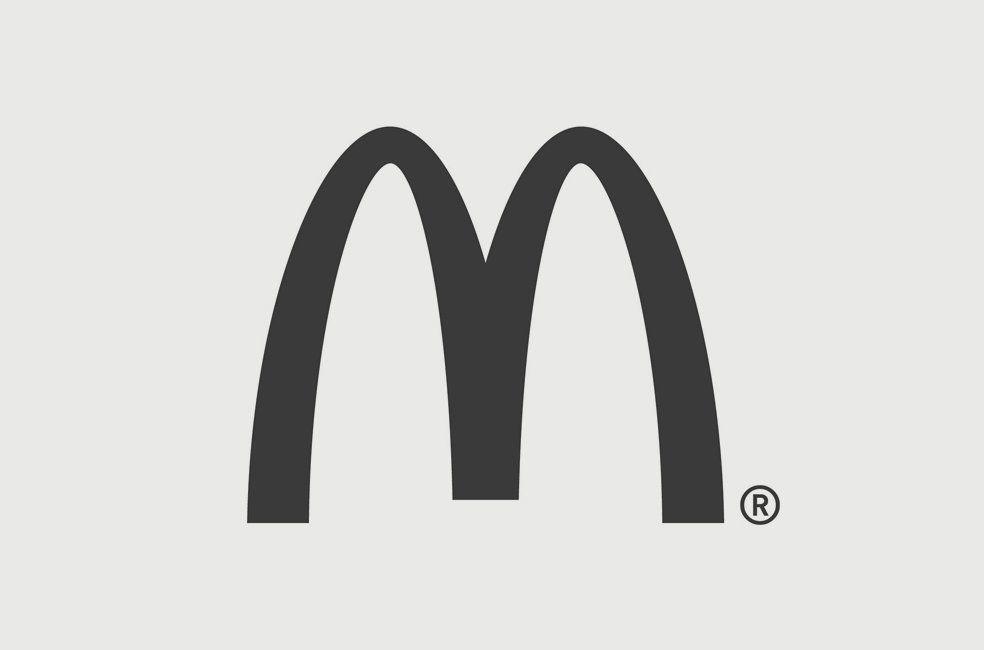 McDonalds logo designed (1962) by Jim Schindler