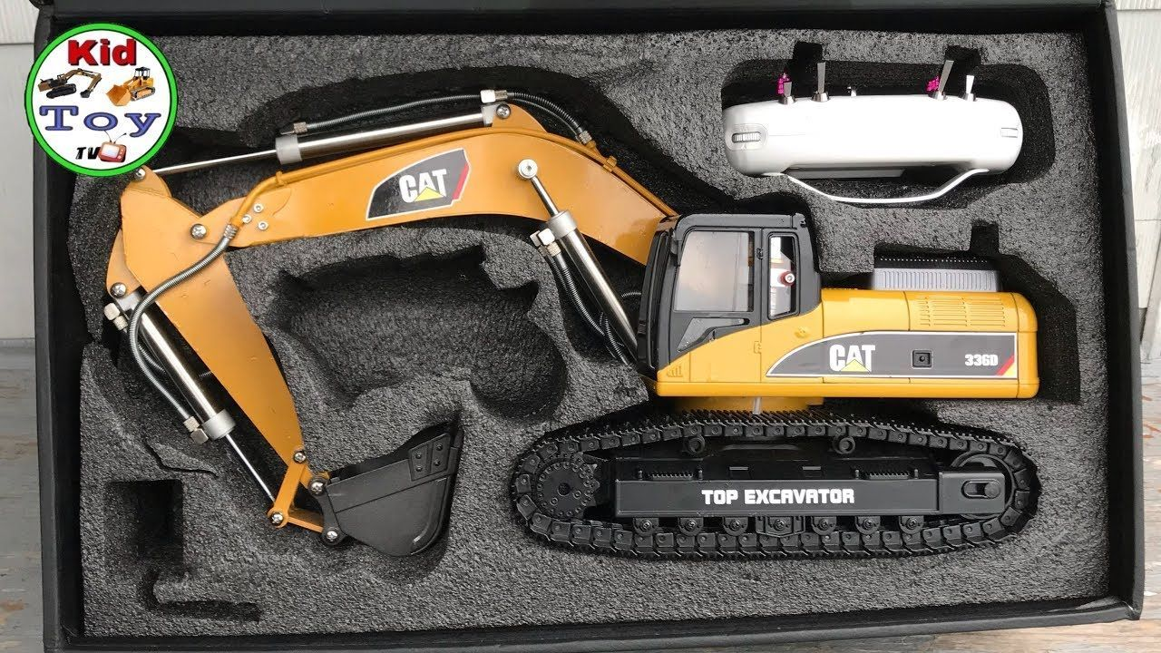 Rc Excavator Unboxing Toys Review Huina 580 Hydraulic Fullmetal Discover The Best Baby Toys For Rc Construction Equipment Best Baby Toys Excavator