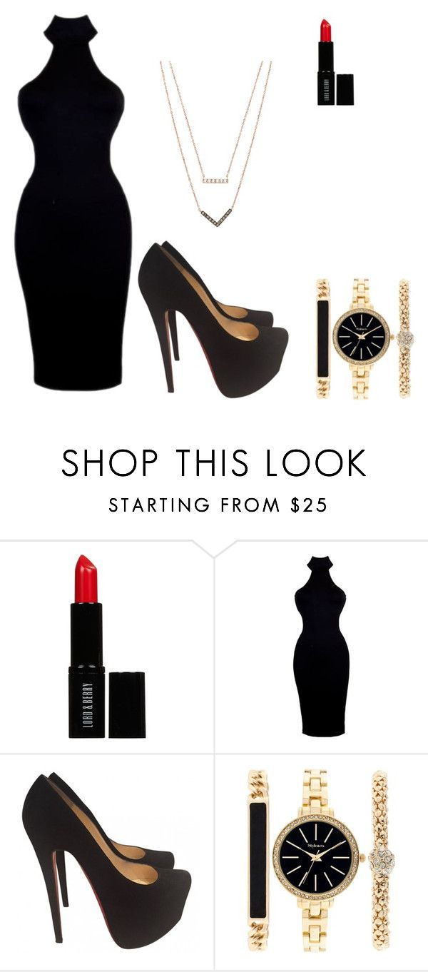 """My First Polyvore Outfit"" by kingdouglas ❤ liked on Polyvore featuring Lord & Berry, Christian Louboutin, Style & Co., Michael Kors, women's clothing, women, female, woman, misses and juniors"