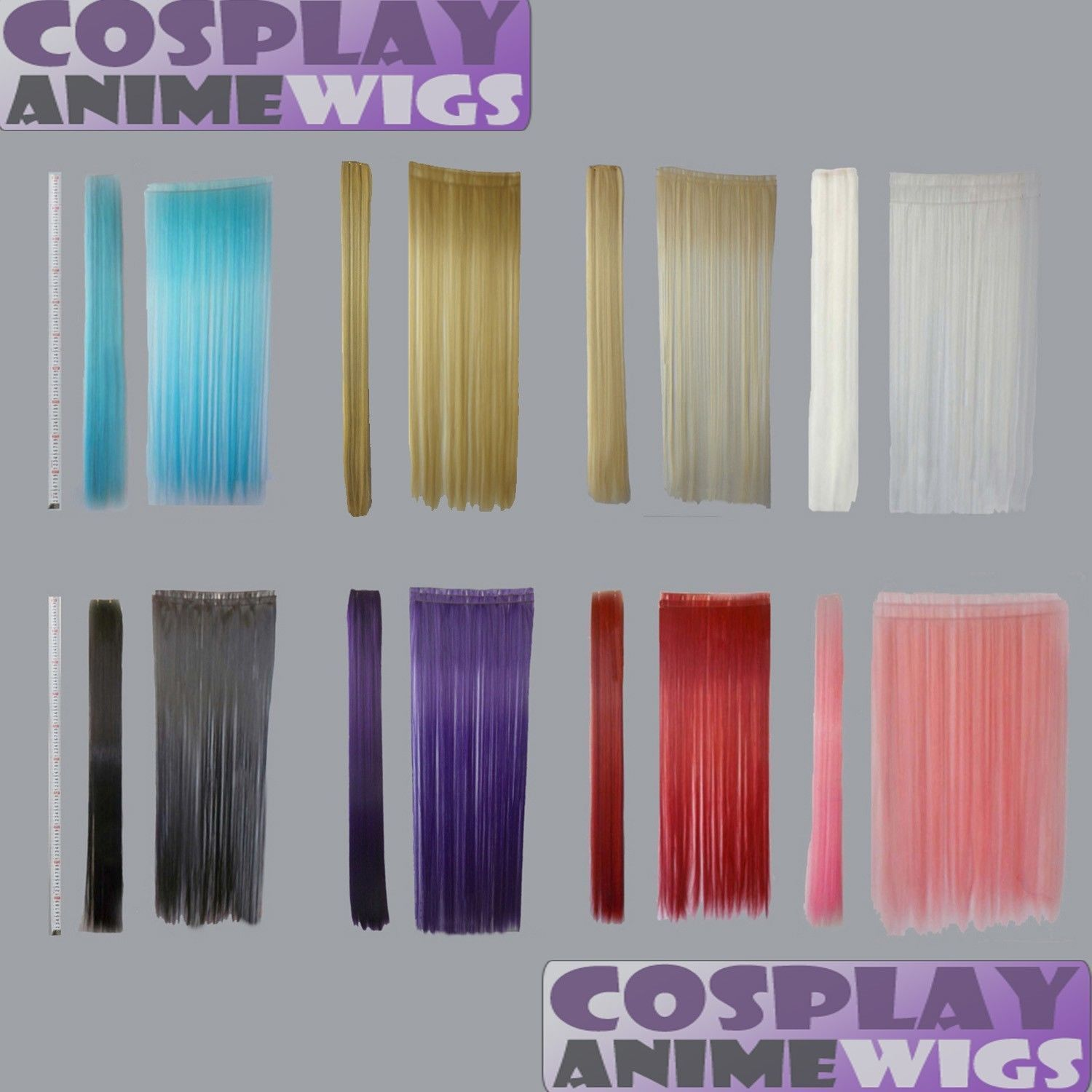 All Color 40 Inch Hair Weft Extension And Hairpiece 3 Pieces