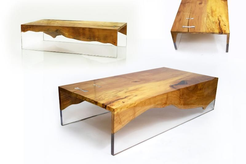 Tables Furniture Table Contemporary Wood Resin Furniture