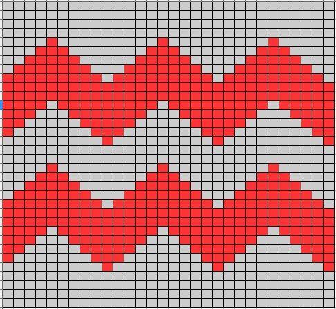 How to knit zig zags  LoveKnitting blog