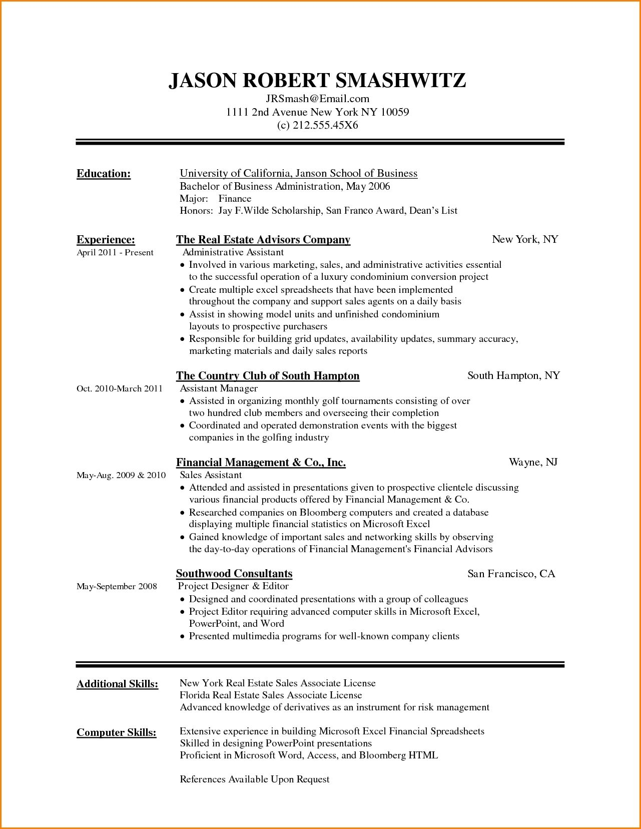 Resume Format With Skills In 2020 Microsoft Word Resume Template