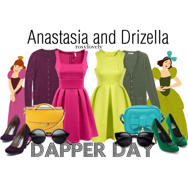 anastasia and drizella disneybound - Google Search