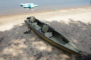 Native Ultimate 16 Two Person Like A Tandem Kayak Canoe Hybrid