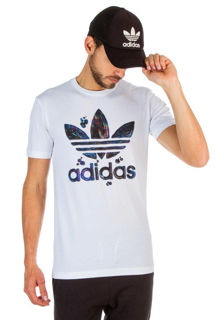 partido Democrático mirar televisión edificio  Camiseta Blanco adidas Running Fill T | Camisa adidas, Roupas masculinas,  Moda masculina