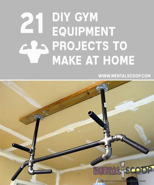 Do it yourself gym equipment fitness projects you can