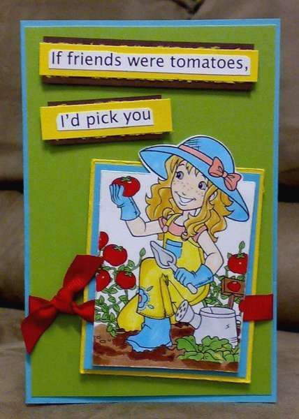 holly hobbie and friends cake pinterest | Holly Hobby --- If friends were tomatoes.... | MY CARDS