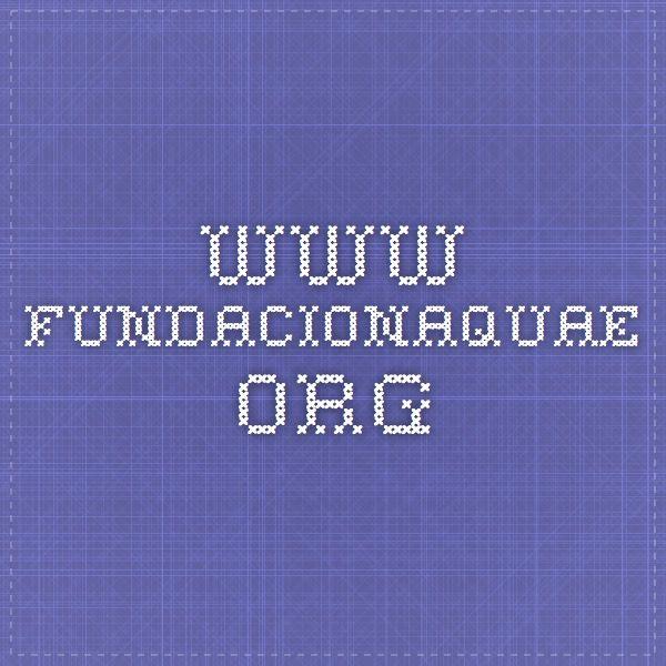 www.fundacionaquae.org