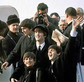 The British Invasion Begins: Beatles Land in U.S. 50 Years Ago (Photo: Getty Images)
