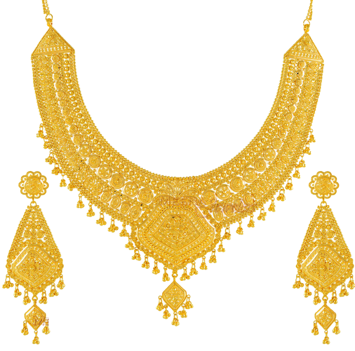 Latest Stylish Gold Jewelry 2015 Sets for Bridal | gold sets ...