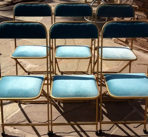 Vintage 1920s Metal Folding Chairs Ebay Metal Folding