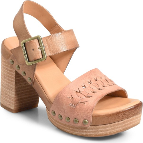 3b7301d2759f Kork-Ease Pasilla Platform Sandal in Brown. Rivet hardware and huarache  detailing make this lofty platform sandal as chic as it is comfortable.