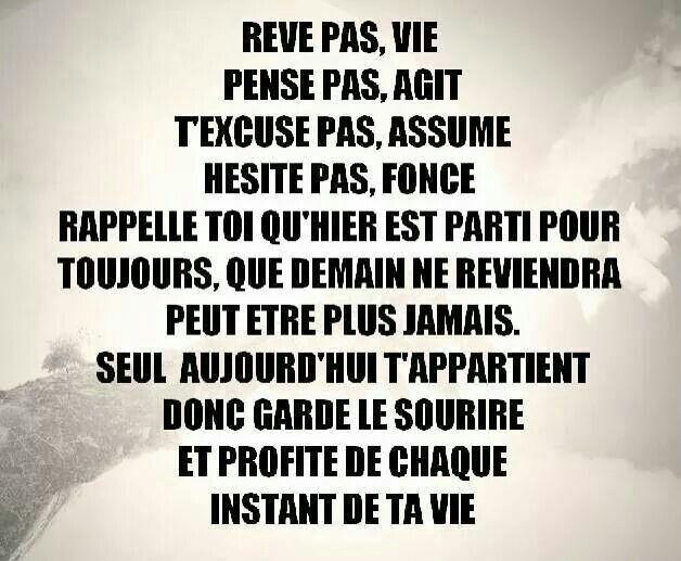 Citation Vie Ta Vie