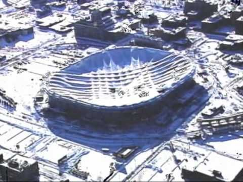 Minneapolis Metrodome Roof Collapse Aftermath Roof Collapsing Collapse Minneapolis