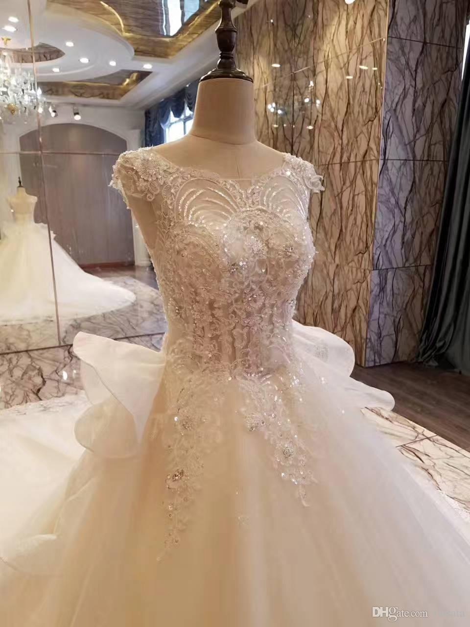 Real photos top customized crystal champange arab wedding dresses real photos top customized crystal champange arab wedding dresses 2017 puffy shining stones arabic girl ball ombrellifo Choice Image