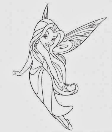 free printable fairy coloring pages in pdf | Fairy ...